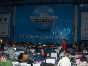 Vista del Campus Party El Salvador