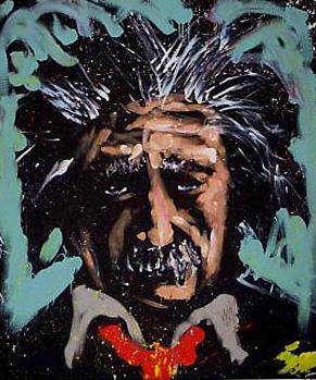 """Albert Einstein"" de David Garibaldi"