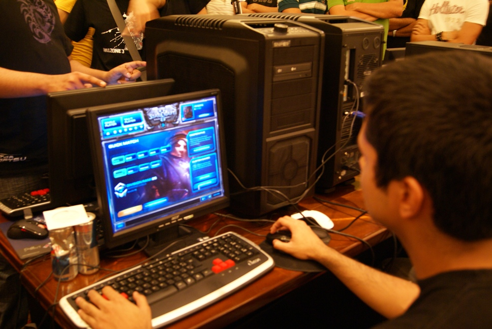 Starcraft en LAN Party